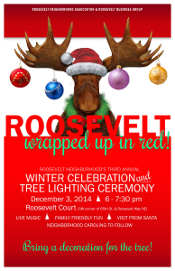 Third Annual Winter Celebration and Tree Lighting @ Roosevelt Court | Seattle | Washington | United States